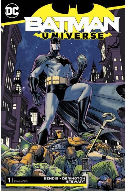 BATMAN UNIVERSE COMPLETE SET 1 - 6 FIRST PRINTING