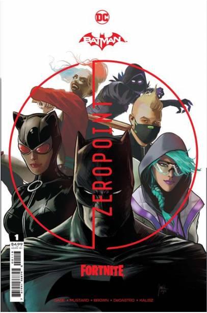 BATMAN FORTNITE ZERO POINT COMPLETE SET #1 - 6