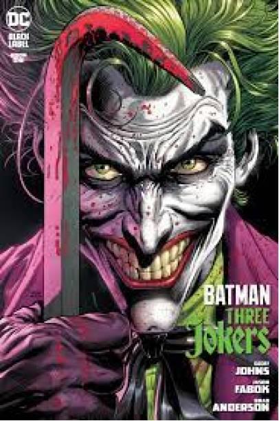 BATMAN THREE JOKERS COVER A SET