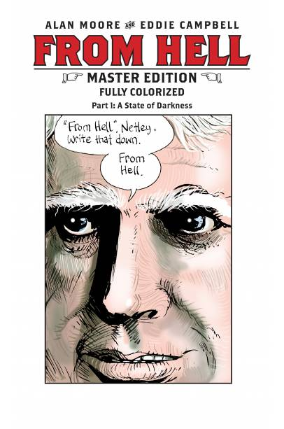 FROM HELL MASTER EDITION #1 - 10 COMPLETE SET FIRST PRINTING