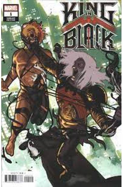 KING IN BLACK #1-5 SPOILER COVER SET FIRST PRINTING