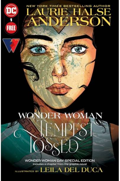 WONDER WOMAN TEMPEST TOSSED WONDER WOMAN DAY SPECIAL EDITION #1 (ONE SHOT)