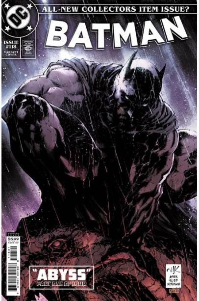 BATMAN #118 CVR E VIKTOR BOGDANOVIC CARD STOCK VAR