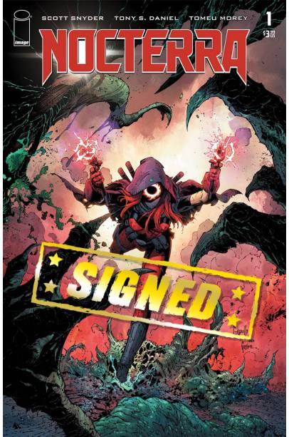Nocterra #1 Cover Q Variant Greg Capullo Cover Signed By Scott Snyder