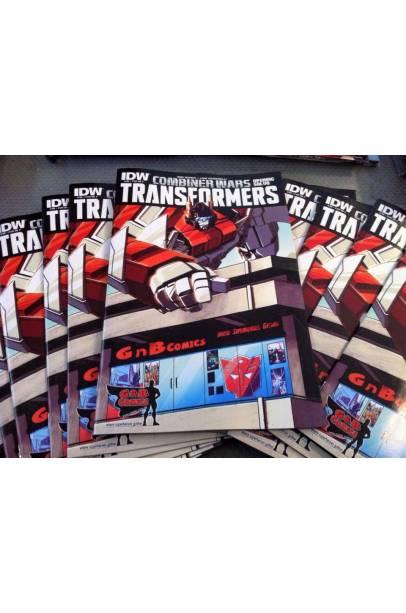 TRANSFORMERS COMBINER WARS GnB COMICS EXCLUSIVE COVER