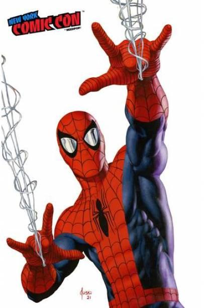 AMAZING SPIDER-MAN #73 JOE JUSKO NYCC VIRGIN EXCLUSIVE!