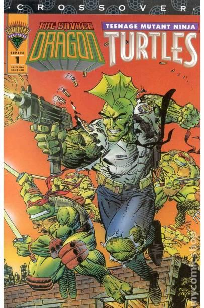 Savage Dragon Teenage Mutant Ninja Turtles (1993)