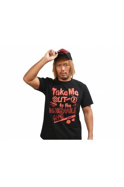 "Tetsuya Naito ""Ingobernables Game"" T-shirt (black)"