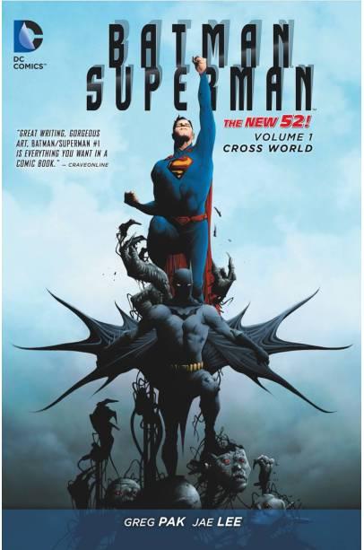 BATMAN SUPERMAN HC VOL 01 CROSS WORLD (N52)