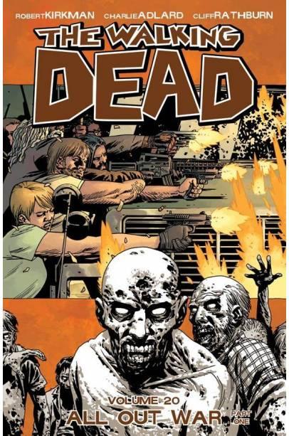 WALKING DEAD TP VOL 20 ALL OUT WAR PT 01